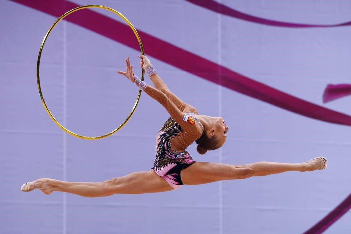 Картинки про художественная гимнастика